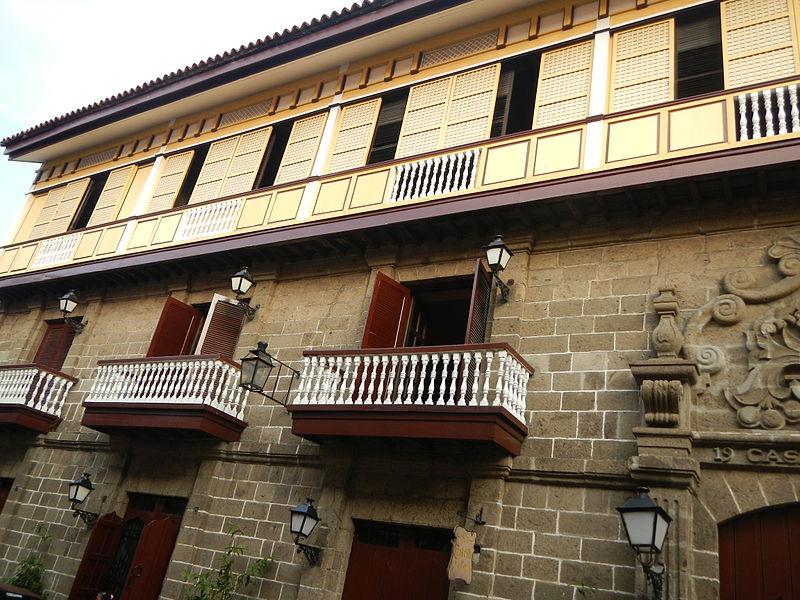 Exterior of Casa Manila, Intramuros, Manila, Philippines (image)