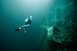Coron Bay wreck, Palawan, Philippines (image)