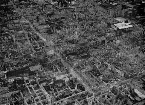 Intramuros ruins, Battle of Manila, 1945 (image)
