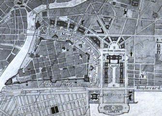 Daniel Burnham's plan for Intramuros and Luneta, 1912 (image)