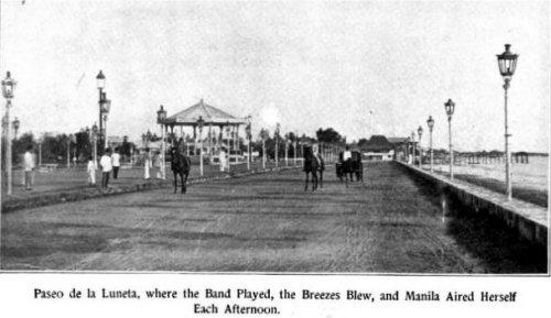 Paseo de la Luneta, Manila, 1894 (image)