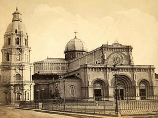 Manila Cathedral in 1880 (image)