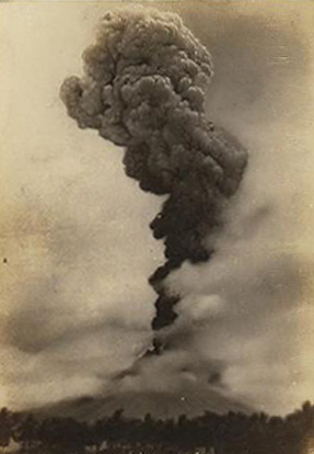 Mt Mayon eruption 1928 picture