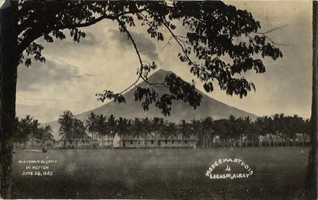 Mayon eruption 1928 photo